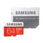 Κάρτα μνήμης Samsung EVO Plus microSDXC 64GB