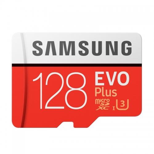 Κάρτα μνήμης Samsung EVO Plus microSDXC 128GB
