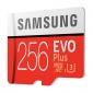 Κάρτα μνήμης Samsung EVO Plus microSDXC 256GB