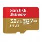 Κάρτα μνήμης SanDisk microSDHC Extreme 32GB V30