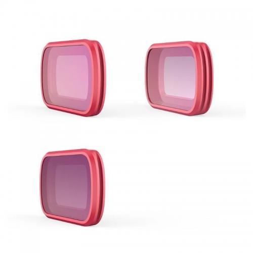 PGYTECH Osmo Pocket Επαγγελματικό σετ φίλτρων: MRC-CPL, ND8 και ND16